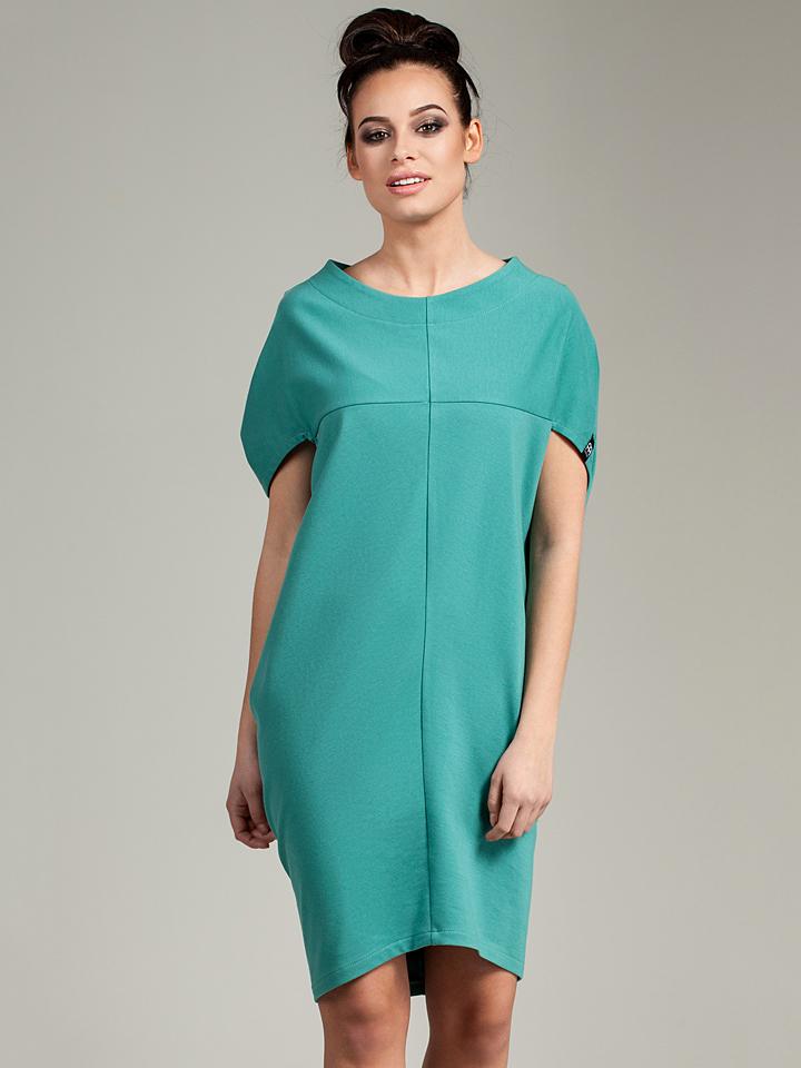 Neu-Seeland Angebote Bewear Kleid in Türkis - 57%   Größe XXL/3XL Damen kleider