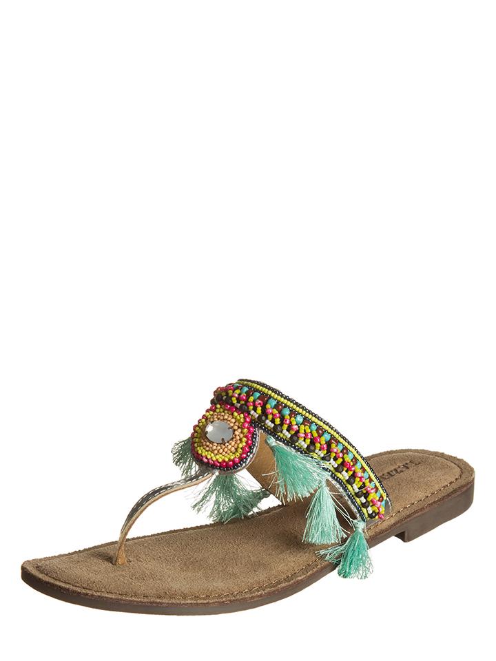 Lazamani Zehentrenner in Bunt - 65% | Größe 38 Damen sandalen