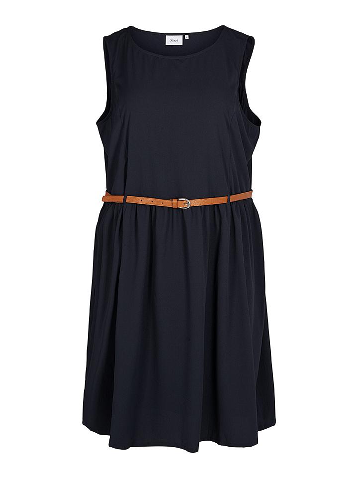 Neiße-Malxetal Angebote Zizzi Kleid in Dunkelblau - 75% | Größe 42/44 Damen kleider
