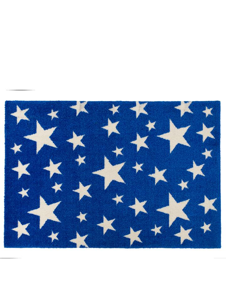 Xanadoo Fußmatte ´´Stars on blau´´ in blau -62% | Größe 60x85 cm Fußmatten