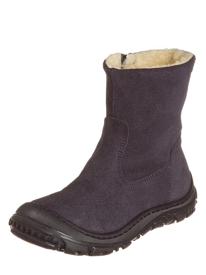 EB Shoes Leder-Stiefeletten in Dunkelblau - 67% | Größe 28 Kinderstiefeletten