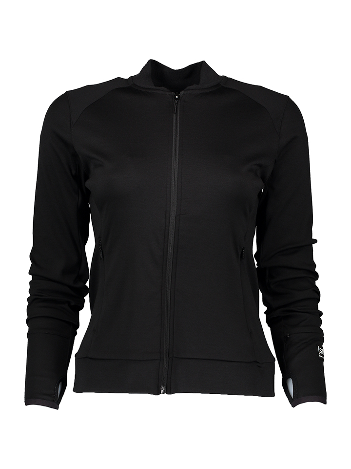 Super.natural Trainingsjacke in Schwarz - 57% | Größe S Damen outdoorjacken