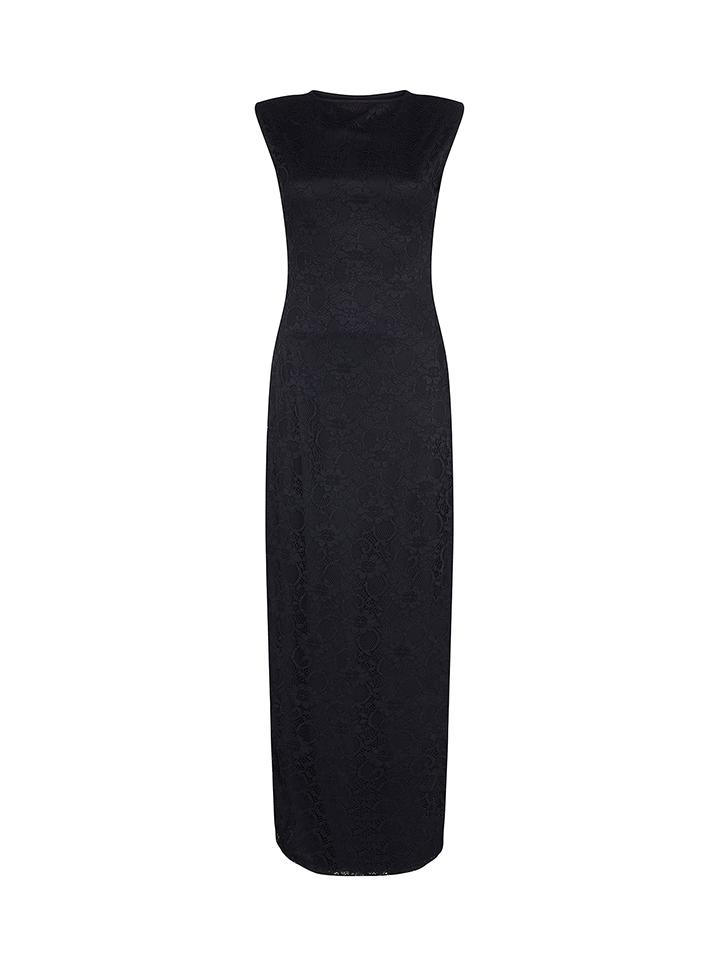 Iska Kleid in Schwarz -62% | Größe 42 Lange Kleider