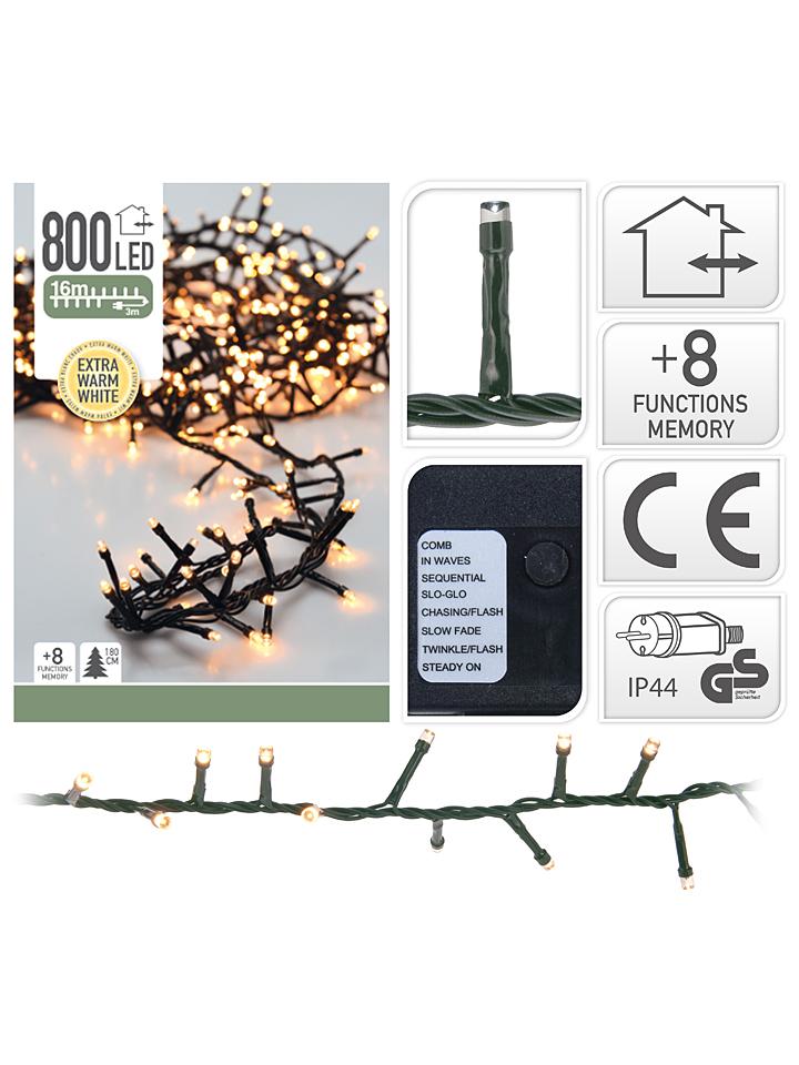 - LED-Lichterkette in Warmweiß (L)1600 cm 42% | Weihnachtsdekoration