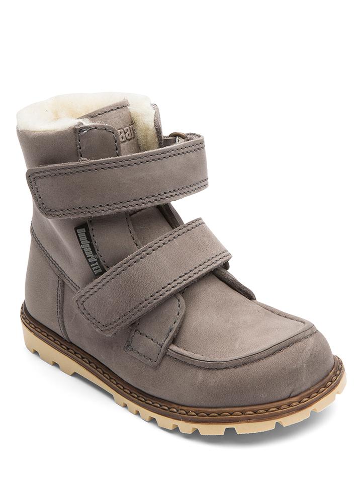 Bundgaard Leder-Boots ´´Terry´´ in Grau - 56% | Größe 31 Kinderboots
