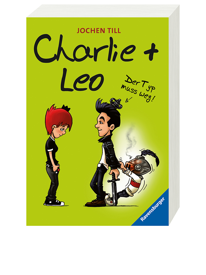 Ravensburger Jugendroman Charlie + Leo - Typ muss weg! - 56% | Kinderbuecher
