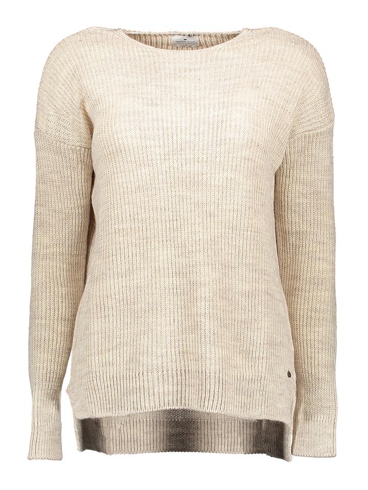 Cross Jeans Strickpullover in Beige - 67% | Größe XL Damen pullover