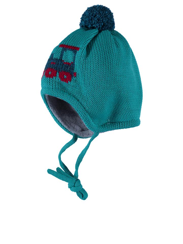 MaxiMo Mütze ´´Lok´´ in Türkis - 30%   Größe 45 cm Kindermuetzen