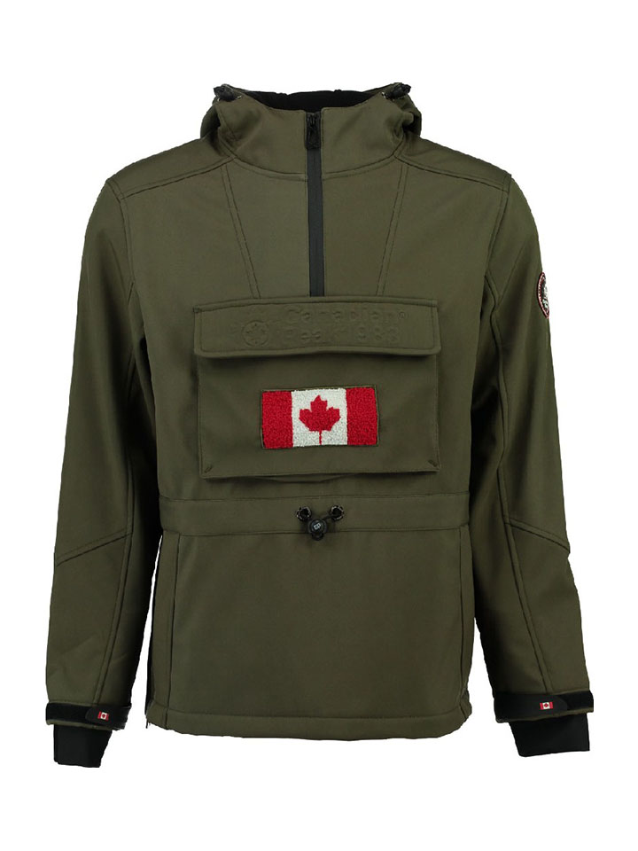 Canadian Peak Softshelltroyer ´´Tokano´´ in Khaki - 68% | Größe L Herrenjacken