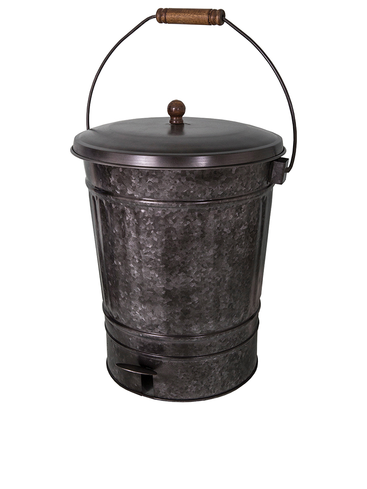 Anticline Mülleimer in Silber - H 55 cm - 54 Aufbewahrung