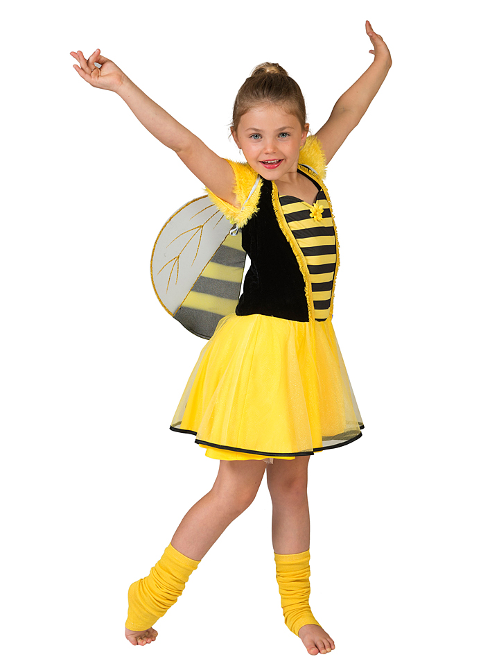 Funny Fashion Kostümkleid ´´Bonni Bee´´ in Gelb...