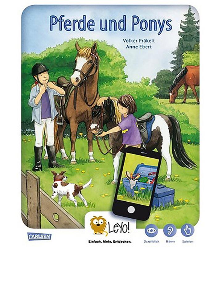 Carlsen Lernbuch ´´LeYo!: Pferde und Ponys´´ - ...