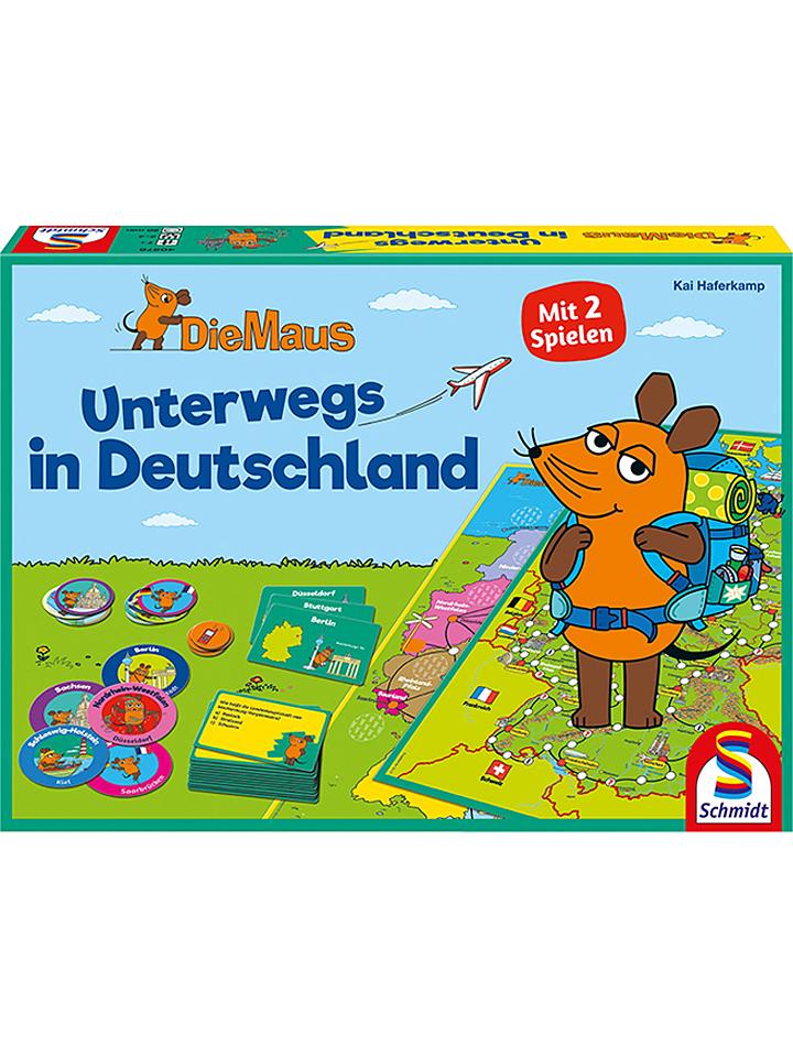 Schmidt Spiele Spiel ´´Die Maus: Unterwegs in D...