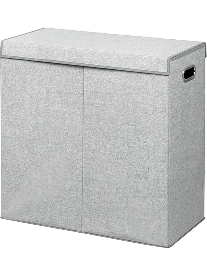 InterDesign Wäschesammler ´´Aldo´´ in Grau - (B)61 x (H)63,5 (T)30,5 cm 29% | Aufbewahrung