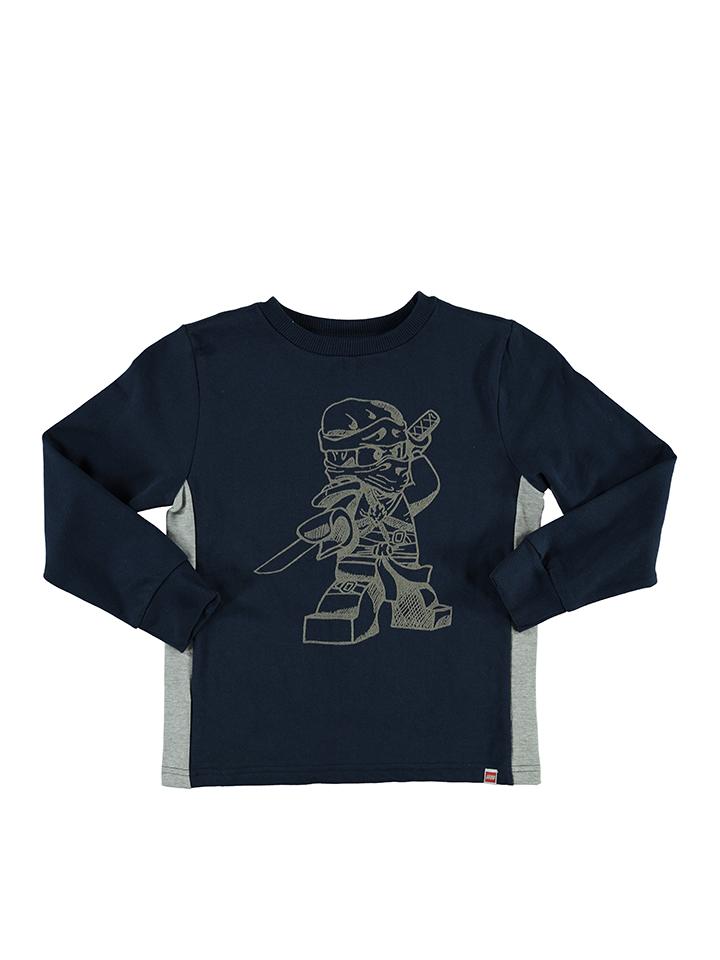 Legowear Sweatshirt ´´Sebastian´´ in Dunkelblau - 55% | Größe 152 Kinderpullover strick