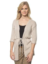 Tom Tailor 3/4-Arm-Cardigan in beige