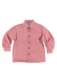 Turi Landhaus Turi Landhaus Trachtenhemd in rot/ weiß