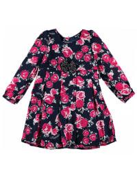 Pampolina Kleid in dunkelblau/ pink/ weiß