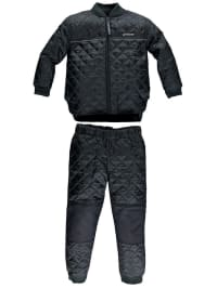 "Color Kids Outfit ""Netherland"": Thermo-Jacke und Thermo-Hose in Schwarz"