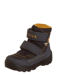 Richter Shoes Boots in blau/ orange