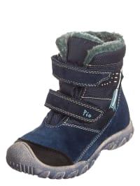 Pio Boots in dunkelblau/petrol