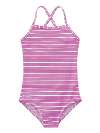 Bellybutton Badeanzug in weiß/ pink