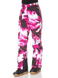 "Völkl Ski-/ Snowboardhose ""Silver Star"" in Pink/ Weiß"