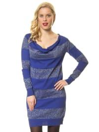 Vero Moda Kleid in blau/ silber