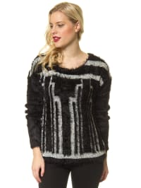 Vero Moda Pullover in Schwarz/ Weiß
