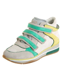 "Geox Sneakers ""Thrill"" in Offwhite/ Mint"