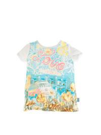 Pampolina Shirt in Creme/ Bunt