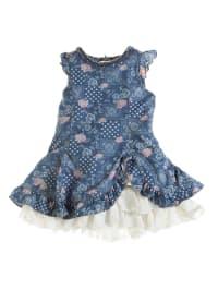 Pampolina Kleid in Blau/ Rosa/ Creme