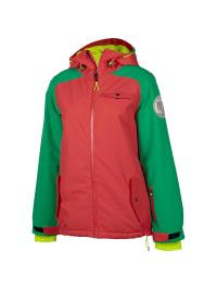 "Chiemsee Ski-/ Snowboardjacke ""Fabiana"" in Pink/ Grün"