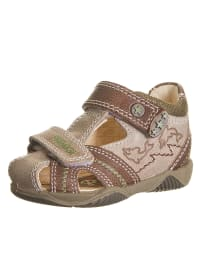 Primigi Leder-Sandalen in beige/ hellbraun