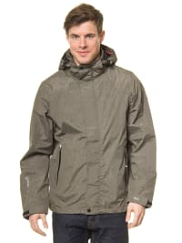"Killtec Outdoorjacke ""Iwaro"" in Grau meliert"