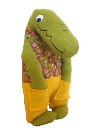 "Selecta Kuscheltier ""Croco - in the pocket"" - ab Geburt"