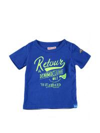 Retour Shirt in royalblau