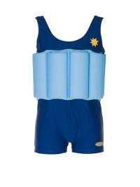 """Beverly Kids Schwimmanzug """"Blue Boy"""" mit Schwimmhilfe in Blau/ Hellblau"""
