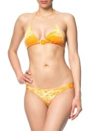 "Matador Triangel-Bikini ""Julie velvet"" in orange"