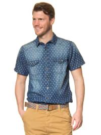 Authentic Style Hemd in blau