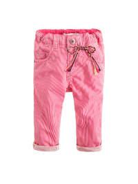 Noppies Hose in Pink/ Weiß