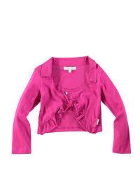 """POM POM Bolero """"Pomme"""" in pink"""