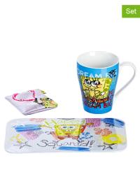 """Geda Labels 3tlg. Frühstücksset """"Spongebob"""" in Bunt"""