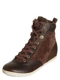 Timberland Leder-Sneakers in braun