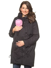 "Mama licious Mantel ""Tikka Carry Me"" in Schwarz"