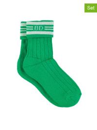 Bonnie Doon 2er-Set: Socken in Grün
