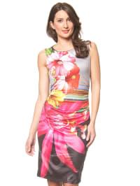 Desigual Kleid in Schwarz/ Bunt