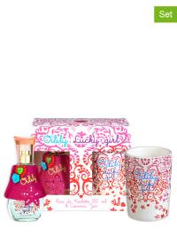 Oilily 2tlg. Set: Lucky Girl - Eau de Toilette und Keramikbecher