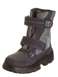Richter Shoes Stiefel in Anthrazit/ Grau