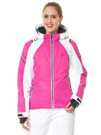 Hyra Ski-/ Snowboardjacke in Pink/ Weiß